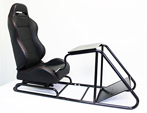 Playseats Driving Simulator Cockpit Gaming Chair with Gea...