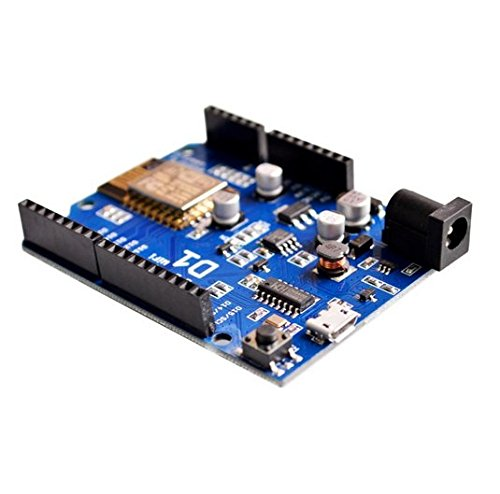[initeq] 2 Pack D1 WIFI Development Board ESP-12 ESP8266 Arduino UNO Size, with Power Connector Pigtail by initeq (Image #4)