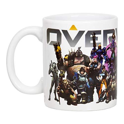 Overwatch Mug | Overwatch Characters and Logo Mug | Collector's Edition
