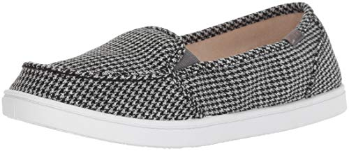 Slip Shoe Black Roxy Sneaker On Plaid Minnow White 8xTA5FAq