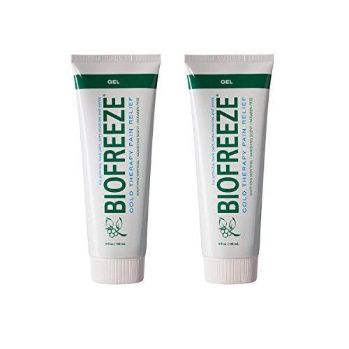 Biofreeze Pain Relief Gel for Arthritis, 4 oz. Cold Topical Analgesic, Fast Acting Cooling Pain Reliever for Muscle, Joint, & Back Pain, Works Similar to Ice Pack, Original Green Formula, - Freeze Deep Gel