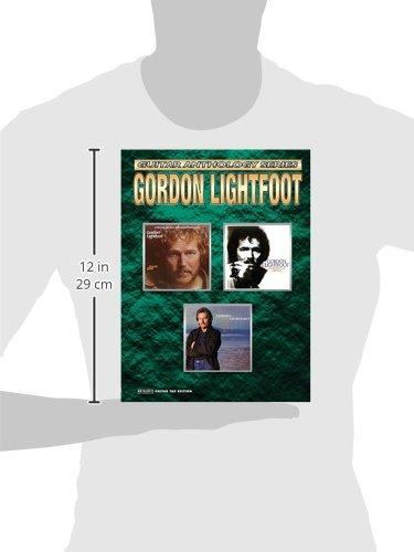 Amazon Gordon Lightfoot Guitar Anthology Authentic Guitar