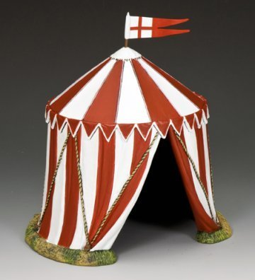 King & Country MK142 The English Tent by Crusaders & Saracens