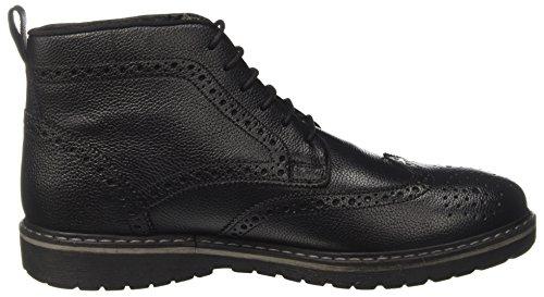 Lumberjack Herren Nero Robinson Black Stiefel rAwxr8d