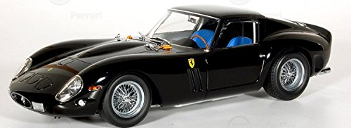 1962 Ferrari 250 GTO Black High End 1/18 Diecast Model Car Kyosho (1962 Ferrari 250 Gto)