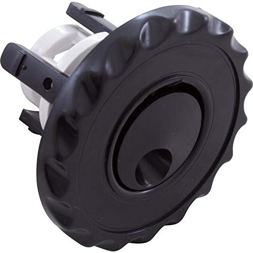 Waterway Plastics 806105060662 Internal Whirly Deluxe Face Black Adjacent Mini Jet -
