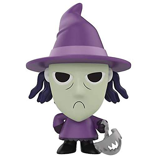 Funko Shock: The Nightmare Before Christmas x Mystery Minis Mini Vinyl Figure & 1 PET Plastic Graphical Protector Bundle [32850]