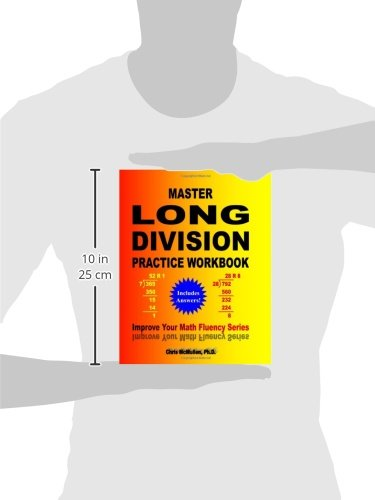 Master Long Division Practice Workbook: Improve Your Math Fluency ...