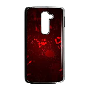 Blood fingerprints personalized creative custom protective phone case for LG G2