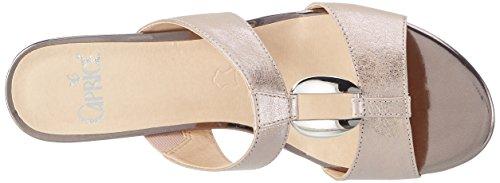 Caprice 27210, Mules para Mujer Rosa (Rose Metallic)