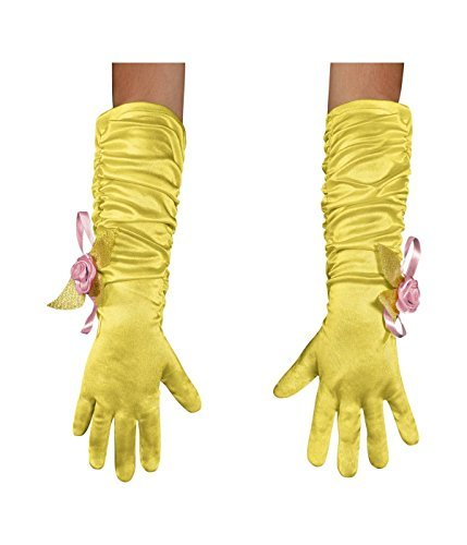 Disguise Costumes Belle Gloves, Girls, Toddler