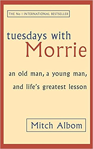 an inspiration recount of a mans life in the story tuesdays with morrie Tuesdays with morrie is an inspirational recount of a man's life  the other is  the story of a professor of social psychology who has come to.