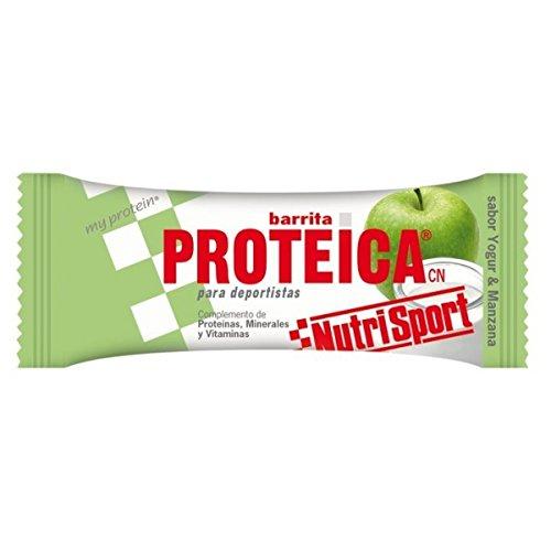 Nutrisport Barrita Proteica 24 x 46g Yogurt-Manzana: Amazon.es: Salud y cuidado personal