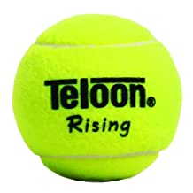 Set of 3 Teloon Rising Junior Special Training Tennis Balls- 2.5 inches