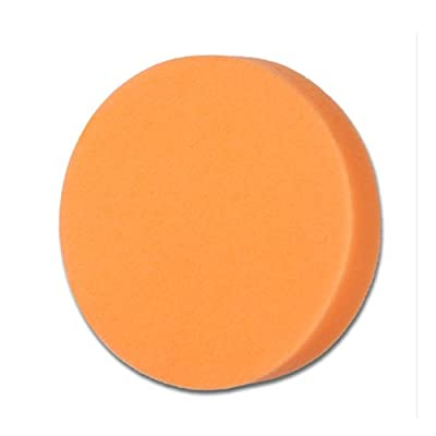 Cyclo (72-145x4-4PK) Orange Foam Compounding and Polishing Pad with Loop, (Pack of 4): Automotive