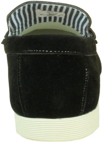 Coronado Heren Casual Schoen Cody-2 Comfortloaf Stijl Met Een Moc-gestikte Neus En Gespdetails Zwart