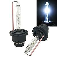 Mega Racer D2S D2C D2R Xenon HID 8000K Sky Blue Light Low Beam Headlight Head Lamp Bulb Philips Replacement 66040 85122