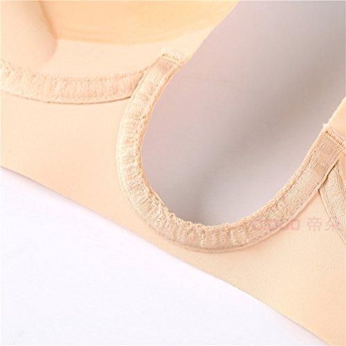 Donna Reggiseni Morbido Adesivi Spalline Confortevole Reggiseno Schienale Invisibile Yuncai Senza Nudo Sw6SH