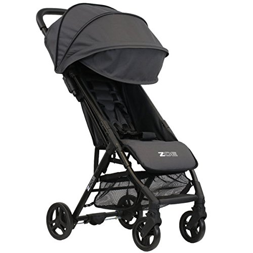 ZOE XLC Best Lightweight Travel & Everyday Umbrella Stroller System (Noah Grey)