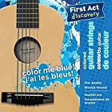 First Act Discovery Boys Guitar Strings - Color Me Blue