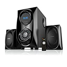 """Sykik Sound SPFYM3083BT , high power wireless Bluetooth speaker, powerful bass with 5.25"""" SubWoofer, FM, SD, USB , RCA in and full function remote control."""