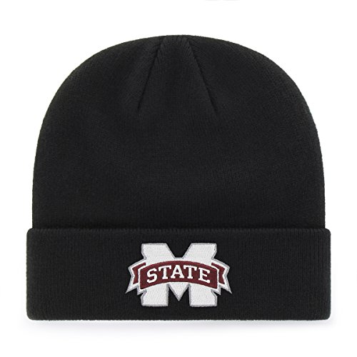 OTS Adult Men's NCAA Raised Cuff Knit Cap, Team Color, One Size