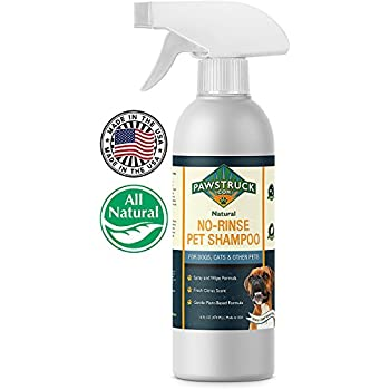 Amazon.com : No-Rinse Dry Dog Shampoo for Dogs, Puppies