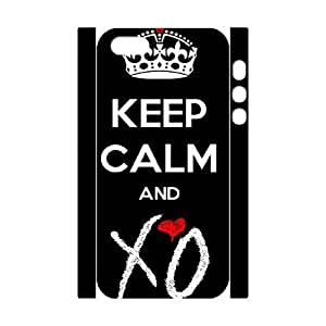 C-EUR Cell phone Protection Cover 3D Case The Weeknd XO For Iphone 5,5S by icecream design