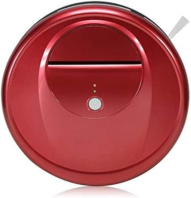 Robot de balayage Robot nettoyeur de nettoyeur ménager intelligent FD-RSW (D) (Gris) (Couleur : Rouge) Rouge