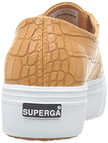 brown Marrone Para 950 Mujer Superga syntcrocodilew Zapatillas 2790 Biscuit xTYYwqRz4