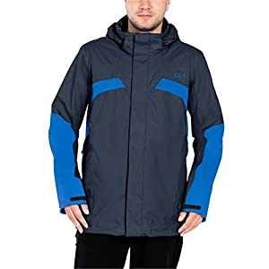 Jack Wolfskin Men's Topaz Jacket, Night Blue, X-Large