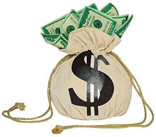 Money Bag Purse Costume Accessory ()