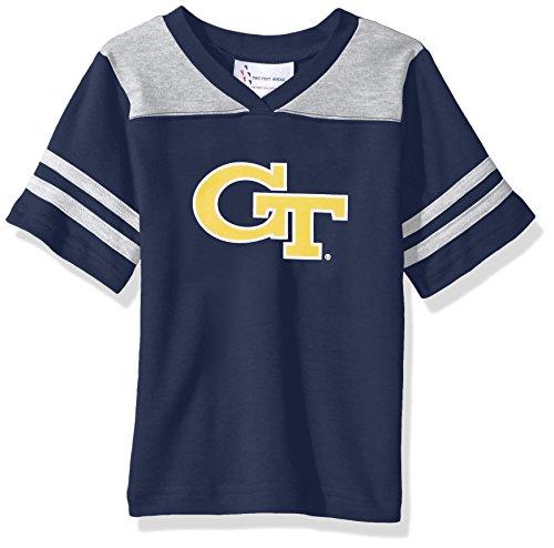 NCAA Georgia Tech Toddler Boys Football Shirt, Navy, 2
