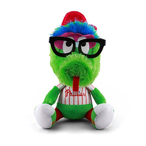MLB Philadelphia Phillies Study Buddy Plush Toy, Medium, White (Phillies Philadelphia Plush)
