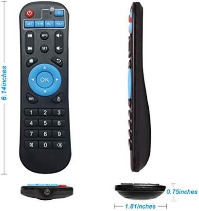 جهاز التحكم عن بعد البديل الأصلي Bincolo لجهاز Android Tv Box Mxq Mxq Pro Mxq 4k M8s M8n T95 T95m T95n T95x X96 X96mini H96 H96 Pro ازرق Amazon Ae