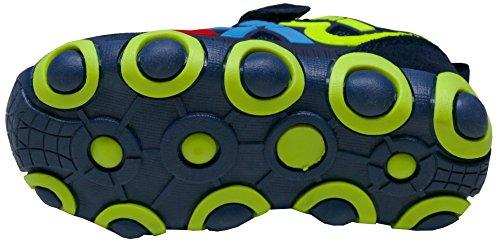 Gibra Zapatillas de Textil/Sintético Para Niña dunkelblau/neongelb