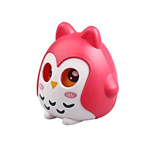 Bienen Cute Owl Saving Money Box With Shaking Eyes Kids ...