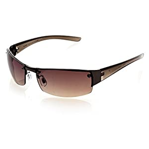 NYS Collection Eyewear King Street Sunglasses (Brown,Brown)