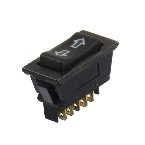 uxcell 2Pcs Momentary 6 Pins DPDT Window Master Switch DC 12V