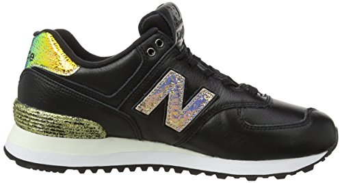 Black Noir Wl574v2 New Pack Balance Femme Glitter Baskets xw0KfPRpwq