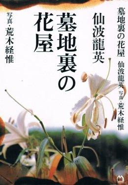 墓地裏の花屋