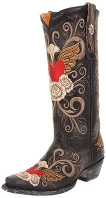 Old Gringo Women's Grace Western Boot,Black,6 B US