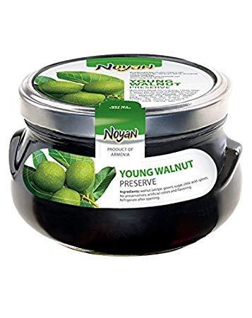 Noyan Young Walnut Preserves 1 Lb. 100% Organic. Armenia (Kosher)