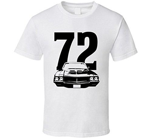 Buick Gran Sport - 1972 Buick Gran Sport 455 Gran Grill View Year Light Color Shirt L White