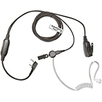 BAOFENG Radio Earpiece (Bodyguard Style Two Wire Headset with HQ PTT Microphone) THE-SECURITY-STORE