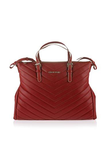 2748S borsa donna ARMANI JEANS borsa shopping con tracolla bordeaux bag woman Burdeos