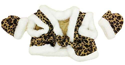 Leopard Vest & Gloves Outfit Fits Most 14