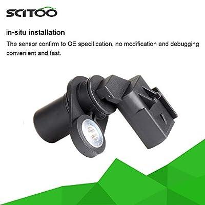 SCITOO 5S7075 Crankshaft Position Sensor Fits 2003 2004 2005 2006 Dodge Ram 2500, 2004 2005 2006 Dodge Ram 3500, 2006 Jeep Commander, 2005 2006 Jeep Grand Cherokee: Automotive