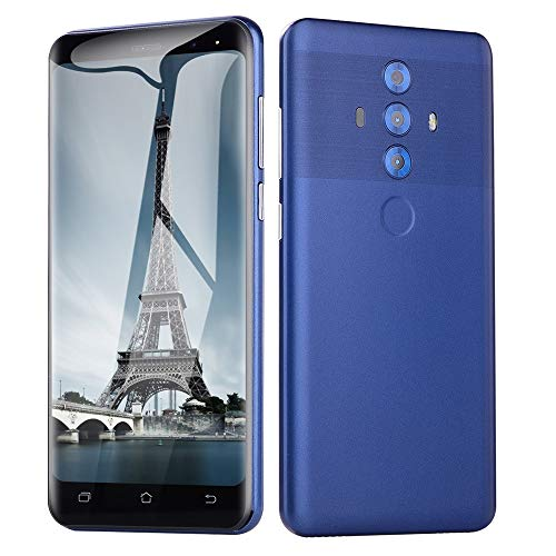 Smartphone Unlocked Cell Phones Unlocked New 5.0 inch Dual HD Camera Android 6.0 512M+4G GPS 3G Call Mobile Phone (1 PC, Blue)