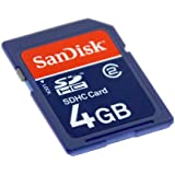 4GB SDHC (Secure Digital HC) Card Sandisk SDSDB-4096 (BUB-S)